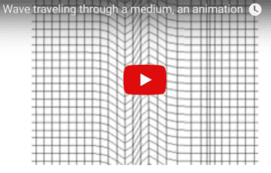 Transverse wave animated video