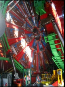particle accelerator at CERN